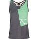 La Sportiva W's Earn Tank Slate/Jade Green
